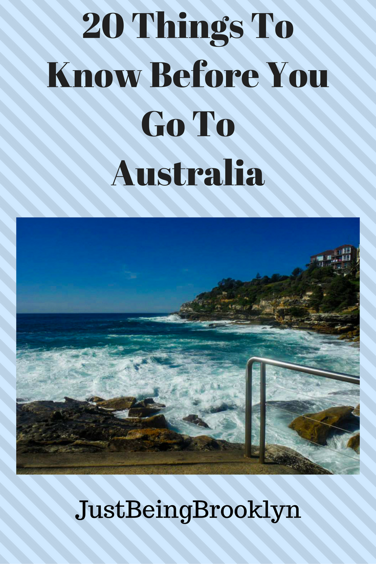 20 Things To Know Before You Go To Australia!