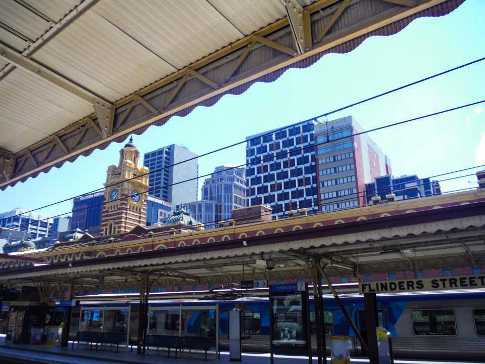 Flinders Street Station. A Melbourne photo essay.