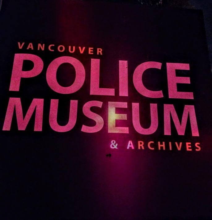Movies in the Morgue. Vancouver Police Museum