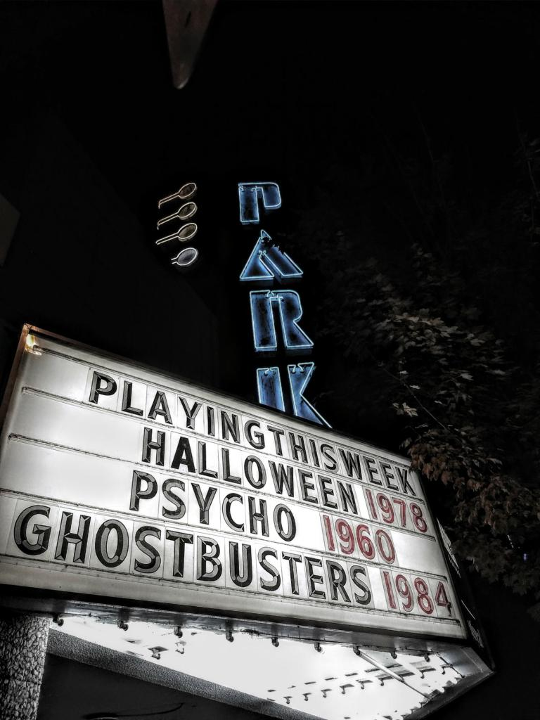 Seeing Psycho at the Park Theatre, Vancouver