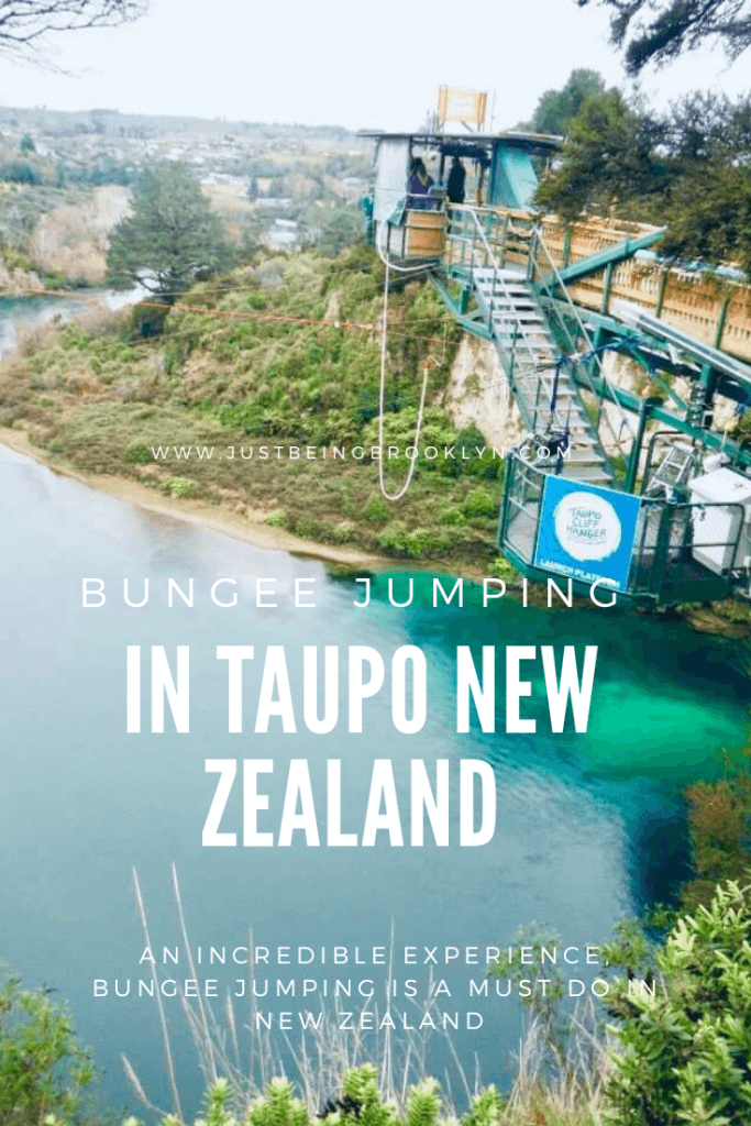 BUNGEE JUMPING in Taupo, New Zealand