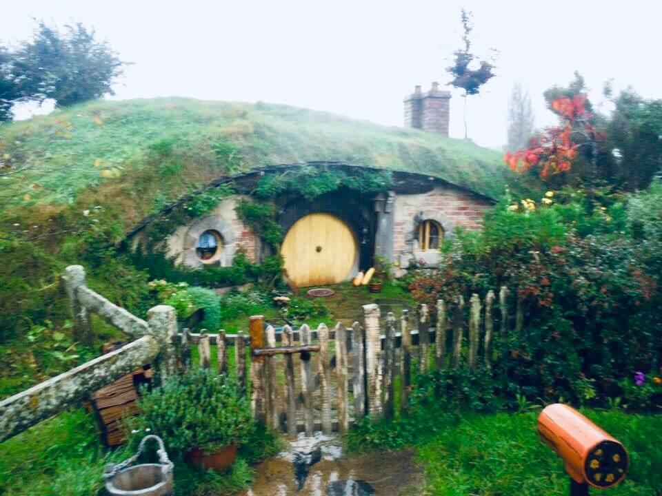 Living the life of a Hobbit while exploring Hobbiton