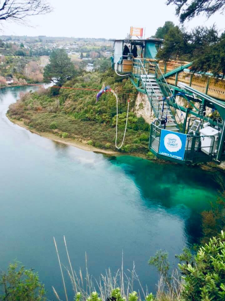 Bungee Jumping in Taupo New Zealand