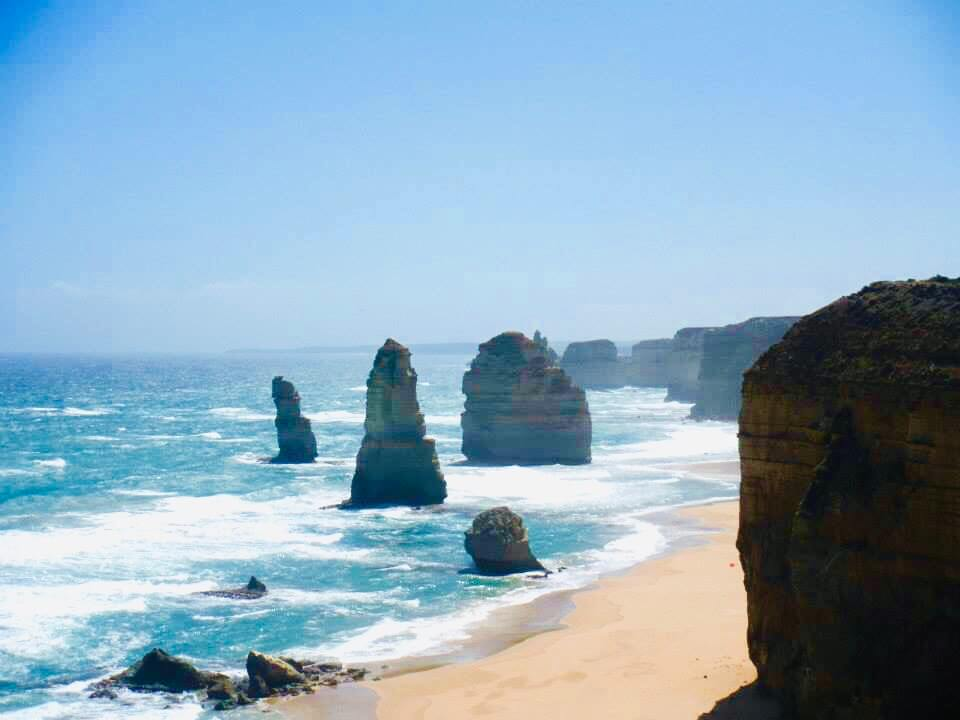 Views looking over the 12 apostles