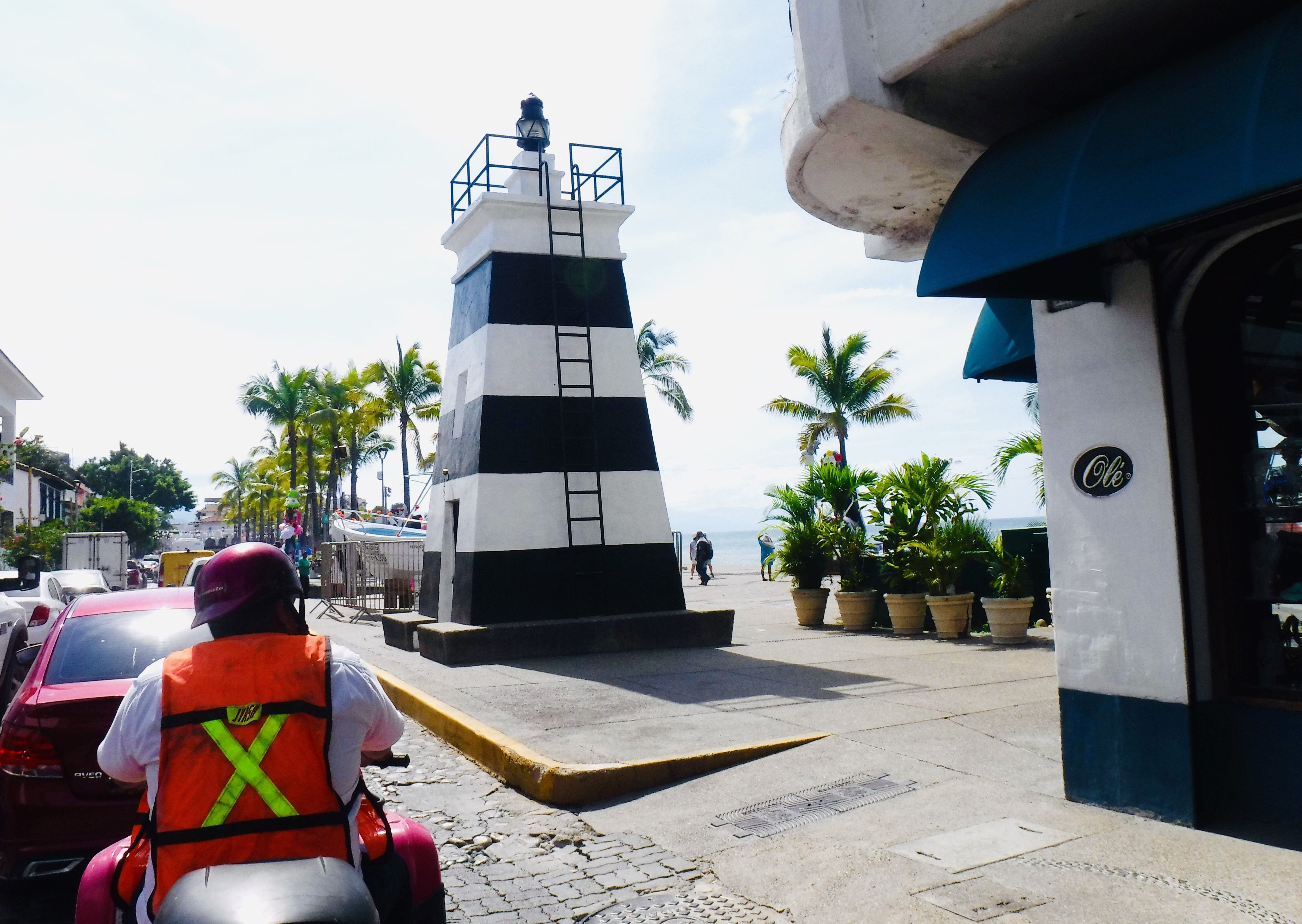 Small lighthouse on the Malecon