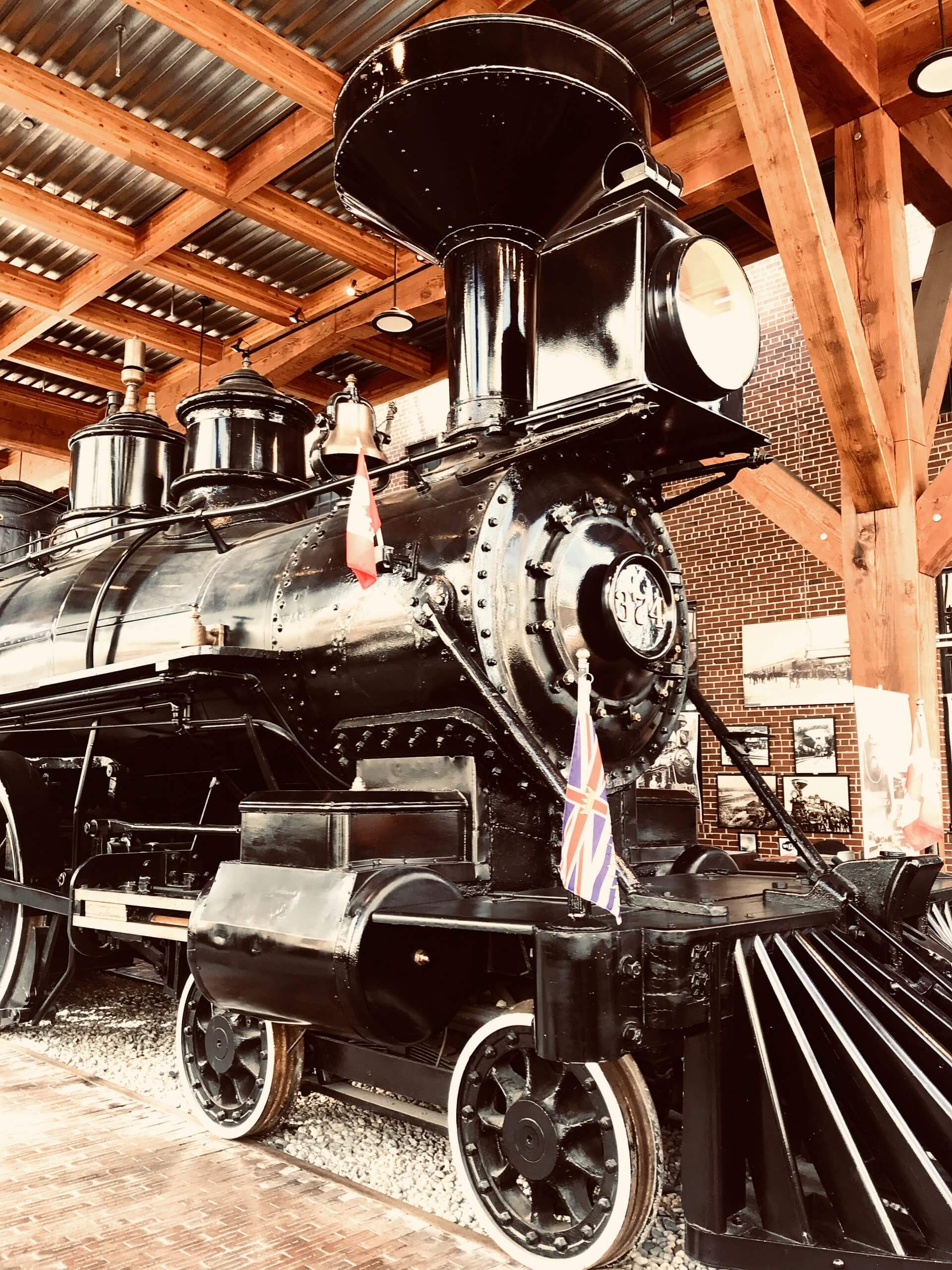 Side view of the Engine 374 Pavilion. Photos to inspire you to visit Vancouver.
