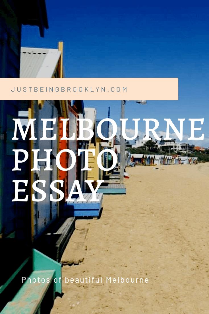 A MELBOURNE PHOTO essay