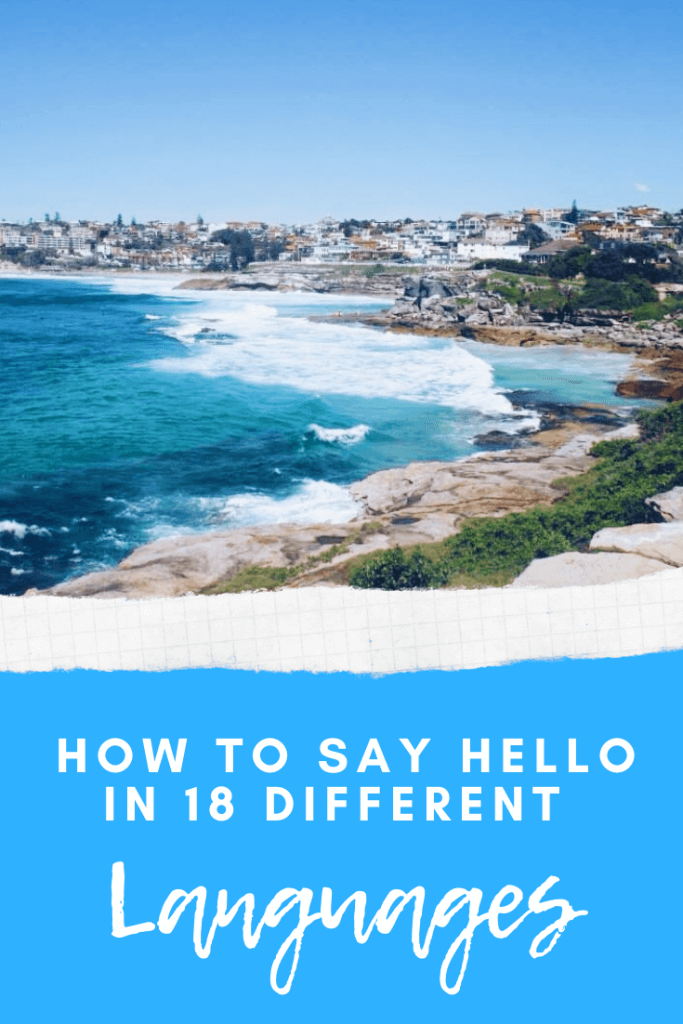 How to say hello in 18 different languages