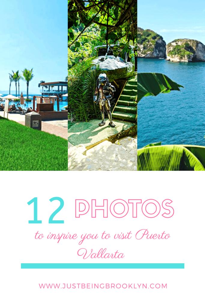 12 photos to inspire you to visit Puerto Vallarta Pinterest pin