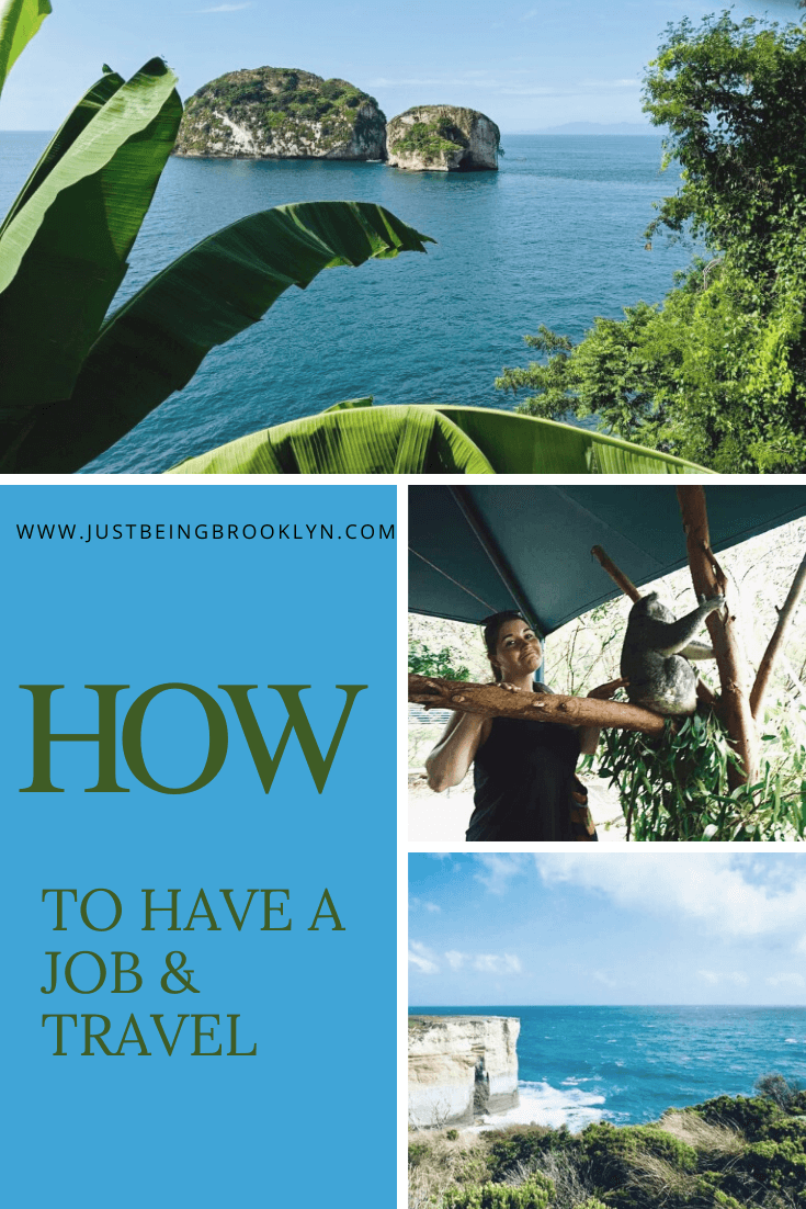 How To Have A Steady Job And Travel The World Pinterest Pin