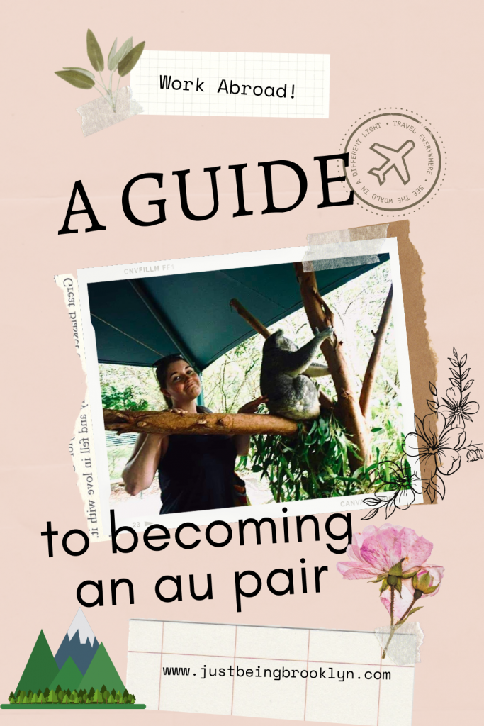 A GUIDE TO BECOMING AN AU PAIR PINTEREST PIN