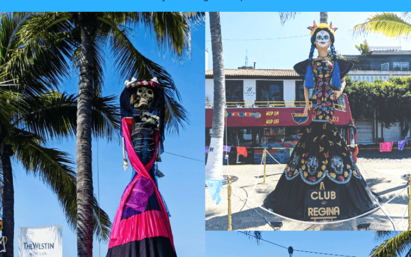 Here are the 6 best places to spend Day of the Dead in Mexico, Pinterest pin